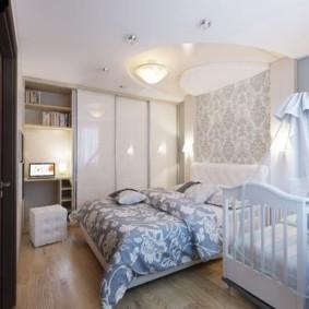 однокомнатная квартира для семьи с ребенком идеи оформления
