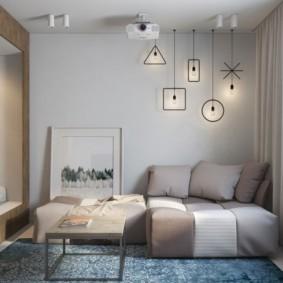 дизайн малогабаритной квартиры виды