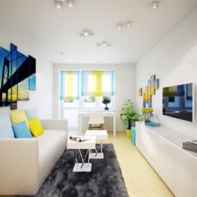 дизайн малогабаритной квартиры виды фото