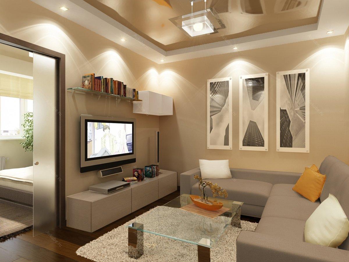 освещение двухкомнатной квартиры