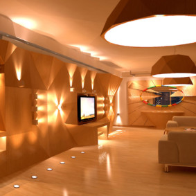 освещение комнат в квартире декор идеи