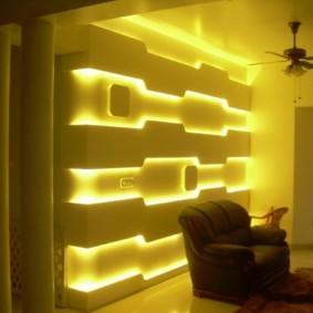 освещение комнат в квартире оформление