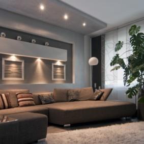 освещение комнат в квартире идеи