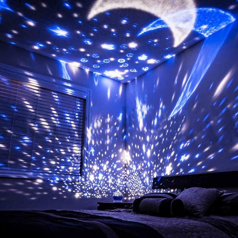 освещение комнат в квартире звездное небо