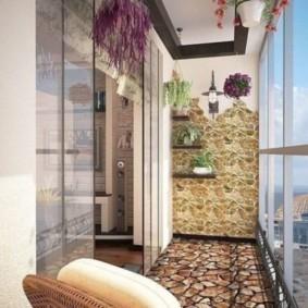отделка балкона в квартире идеи дизайна