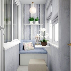 отделка балкона в квартире идеи декор
