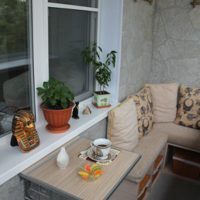 отделка балкона в квартире идеи декора