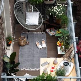 отделка балкона в квартире идеи фото