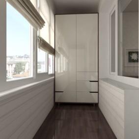 отделка балкона в квартире фото интерьера
