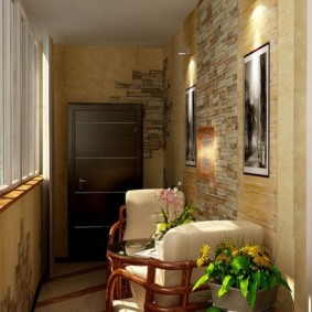 отделка балкона в квартире идеи интерьера