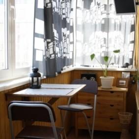 отделка балкона в квартире оформление идеи