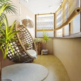 отделка балкона в квартире фото идеи