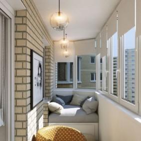 отделка балкона в квартире идеи оформление