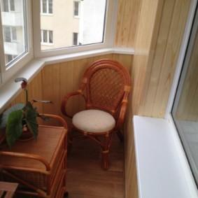 отделка балкона в квартире идеи оформления