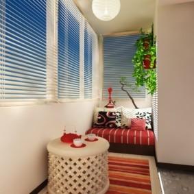 отделка балкона в квартире варианты