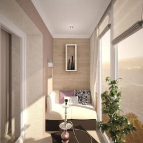 отделка балкона в квартире варианты фото