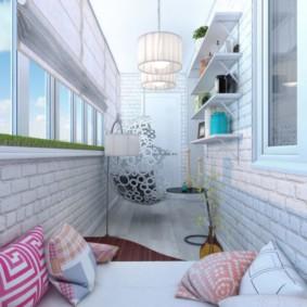 отделка балкона в квартире фото варианты