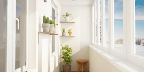 отделка балкона в квартире виды