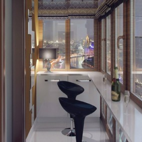 отделка балкона в квартире дизайн