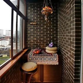 отделка балкона в квартире виды идеи