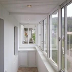 отделка балкона в квартире идеи виды