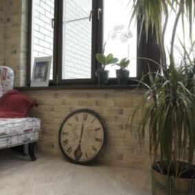 отделка балкона в квартире виды декора