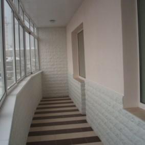 отделка балкона в квартире виды оформления