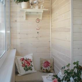 отделка балкона в квартире фото дизайн