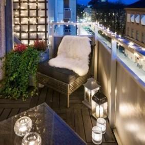 отделка балкона в квартире фото дизайна
