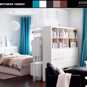 планировка 3-комнатной квартиры брежневки