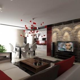 планировка 3-комнатной квартиры брежневки интерьер фото