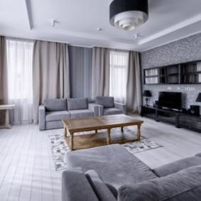 планировка трехкомнатной квартиры фото декора