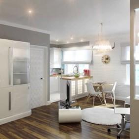 планировка трехкомнатной квартиры интерьер фото