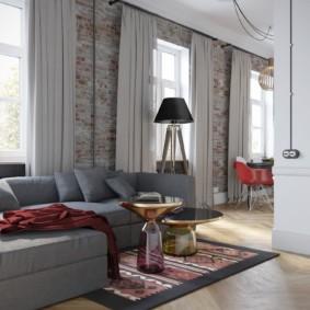 планировка трехкомнатной квартиры идеи интерьера