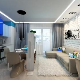 планировка квартиры студии площадью 24 кв м фото дизайн