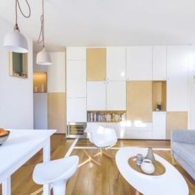 планировка квартиры студии площадью 24 кв м фото варианты