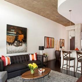 планировка квартиры студии площадью 24 кв м идеи декора