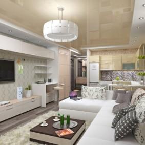 планировка квартиры студии площадью 24 кв м идеи интерьер