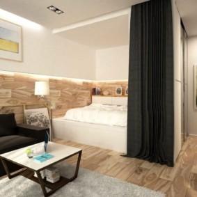 планировка квартиры студии площадью 24 кв м идеи оформления