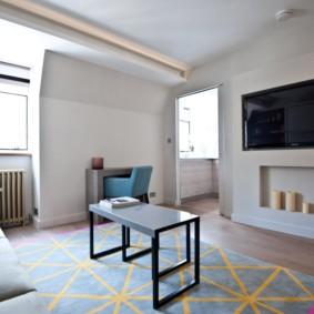планировка квартиры студии площадью 24 кв м идеи вариантов