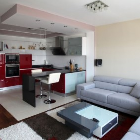планировка квартиры студии площадью 24 кв м оформление