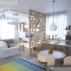 планировка квартиры студии площадью 24 кв м варианты идеи