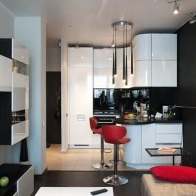 планировка квартиры студии площадью 24 кв м виды