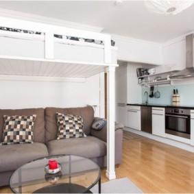 планировка квартиры студии площадью 24 кв м виды дизайна