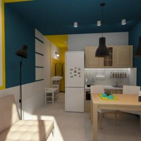 планировка квартиры студии площадью 24 кв м виды идеи