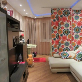 однокомнатная квартира для семьи с ребенком фото вариантов