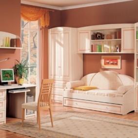подростковая комната для девочки фото идеи