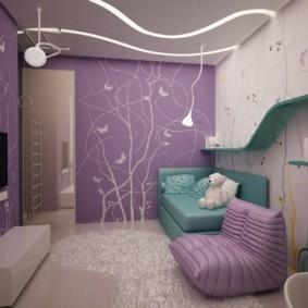 подростковая комната для девочки дизайн фото