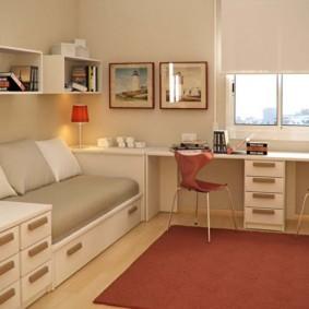 подростковая комната для девочки фото дизайн