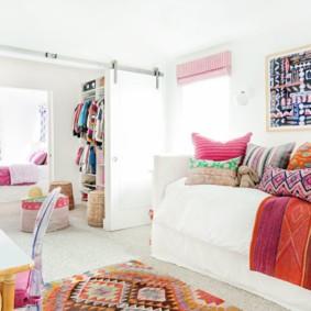 подростковая комната для девочки декор